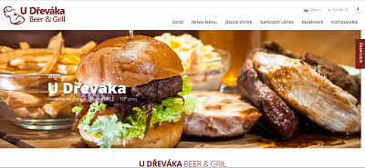 Webové stránky U Dřeváka