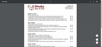 Denní menu - PDF